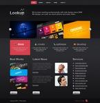 Web design PSD  Template 54107