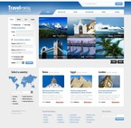 Travel PSD  Template 54112