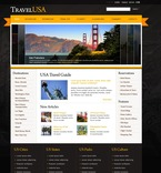 Travel PSD  Template 54116