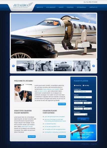 ADOBE Photoshop Template 54118 Home Page Screenshot
