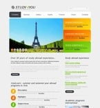 Education PSD  Template 54119