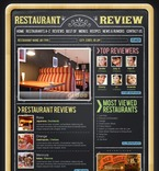 Cafe & Restaurant PSD  Template 54122