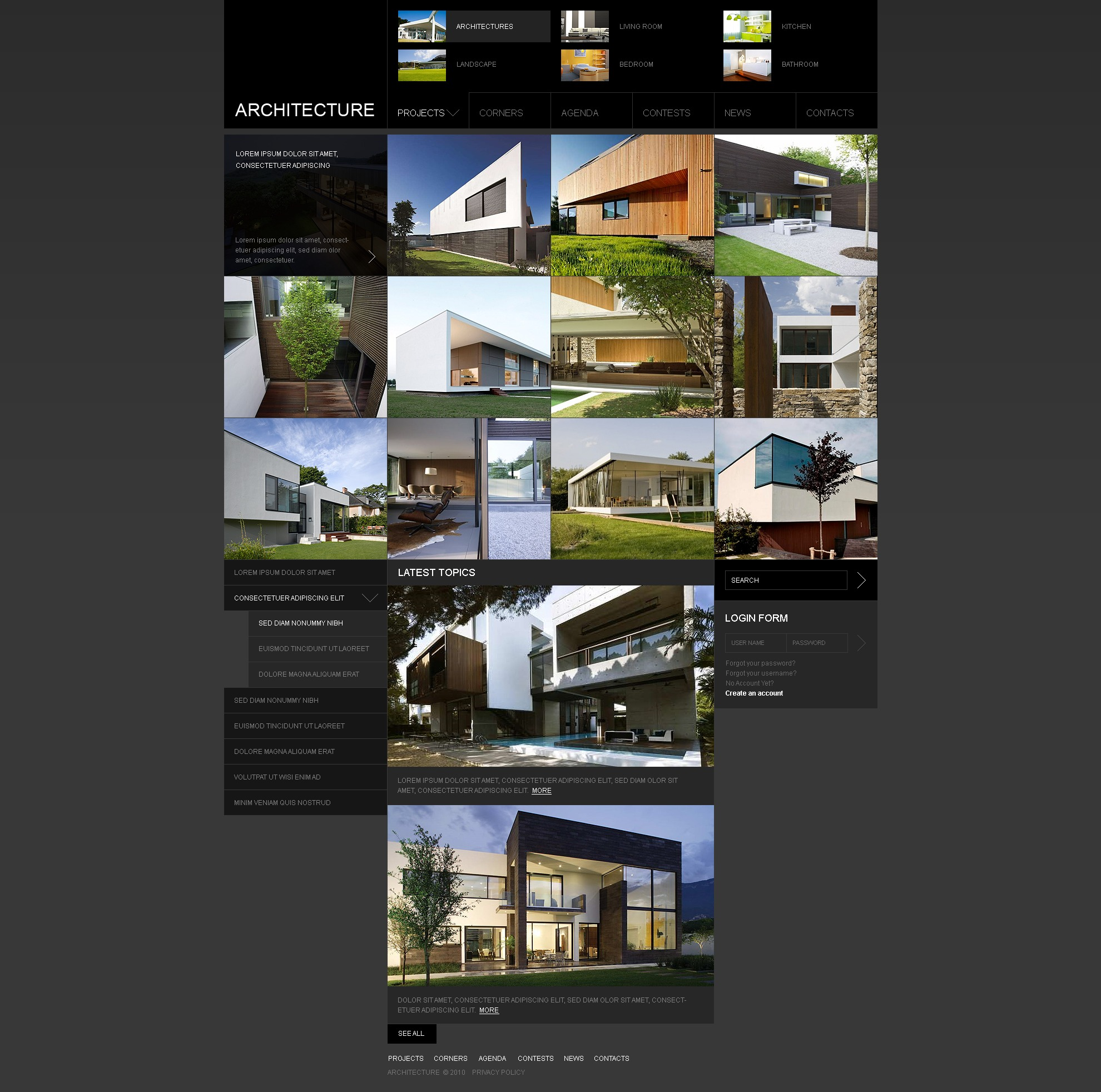 The Architecture Bureau Company PSD Design 54123, one of the best PSD templates of its kind (architecture, wide, jquery), also known as architecture bureau company PSD template, buildings PSD template, technology PSD template, innovation PSD template, skyscrapers PSD template, projects PSD template, constructions PSD template, houses PSD template, work PSD template, team PSD template, strategy PSD template, services PSD template, support PSD template, planning PSD template, custom design PSD template, enterprise PSD template, clients PSD template, partners PSD template, esteem and related with architecture bureau company, buildings, technology, innovation, skyscrapers, projects, constructions, houses, work, team, strategy, services, support, planning, custom design, enterprise, clients, partners, esteem, etc.