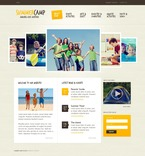 Travel PSD  Template 54128