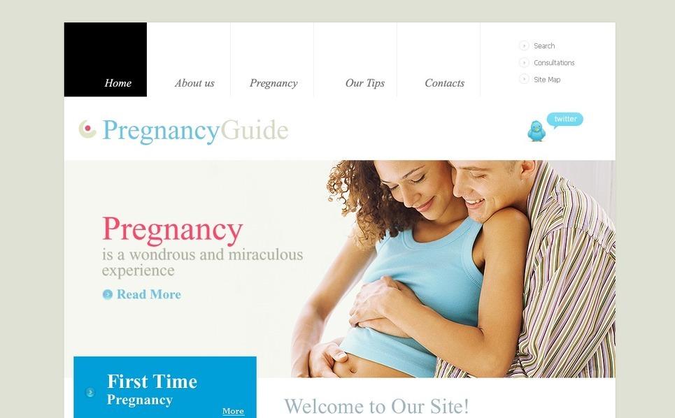 Terhesség PSD sablon New Screenshots BIG