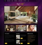 Hotels PSD  Template 54136