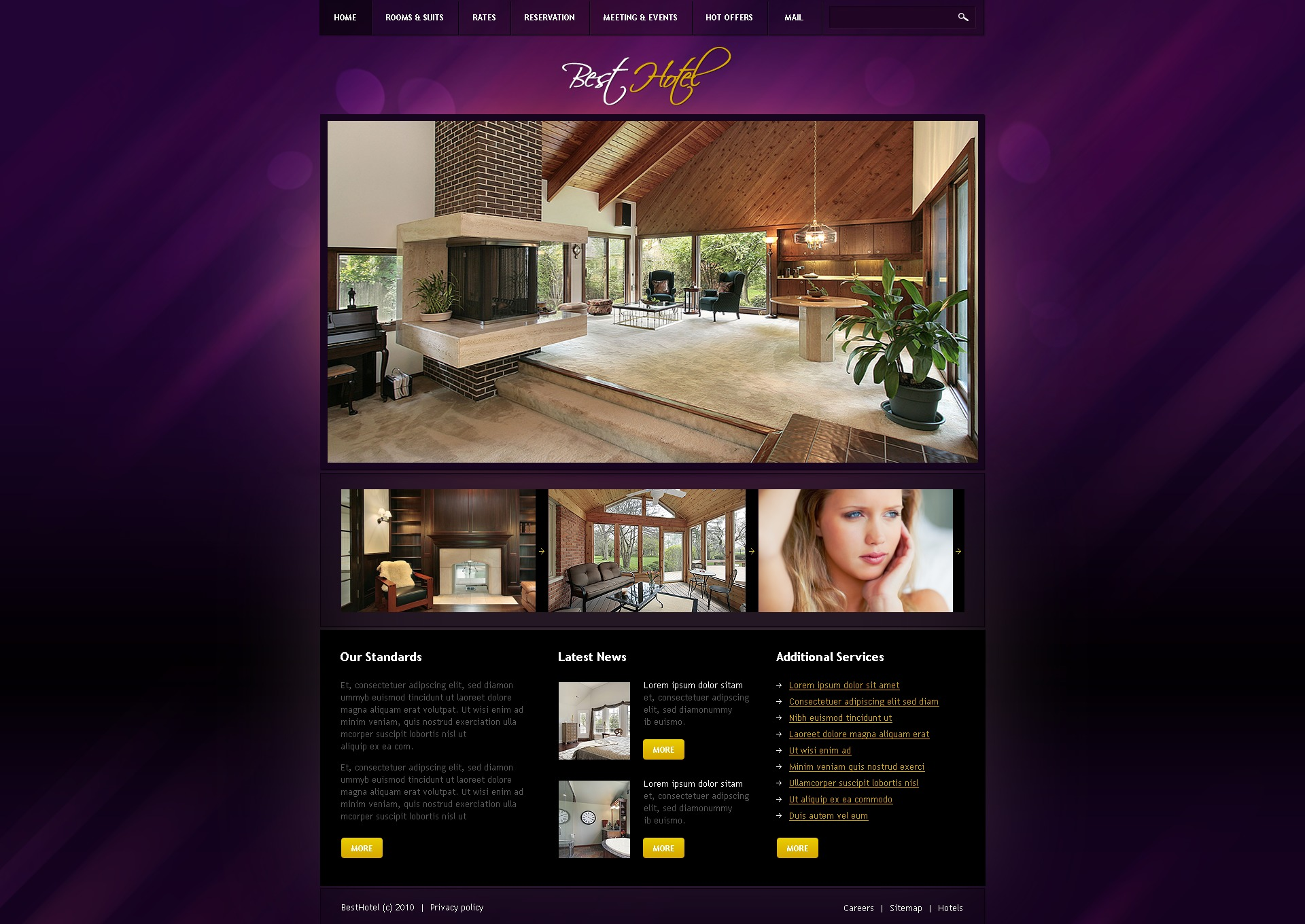 The Best Hotel PSD Design 54136, one of the best PSD templates of its kind (hotels, wide, jquery), also known as best hotel PSD template, royal motel PSD template, PSD template PSD template, exotic PSD template, building PSD template, events PSD template, interior PSD template, cozy PSD template, comfortable room PSD template, spacious PSD template, light PSD template, modern rest PSD template, pool PSD template, floor PSD template, stairs PSD template, staff PSD template, reception PSD template, testimonial PSD template, service PSD template, offer PSD template, booking PSD template, reservation PSD template, order PSD template, location PSD template, security PSD template, wedding PSD template, cerem and related with best hotel, royal motel, PSD template, exotic, building, events, interior, cozy, comfortable room, spacious, light, modern rest, pool, floor, stairs, staff, reception, testimonial, service, offer, booking, reservation, order, location, security, wedding, cerem, etc.