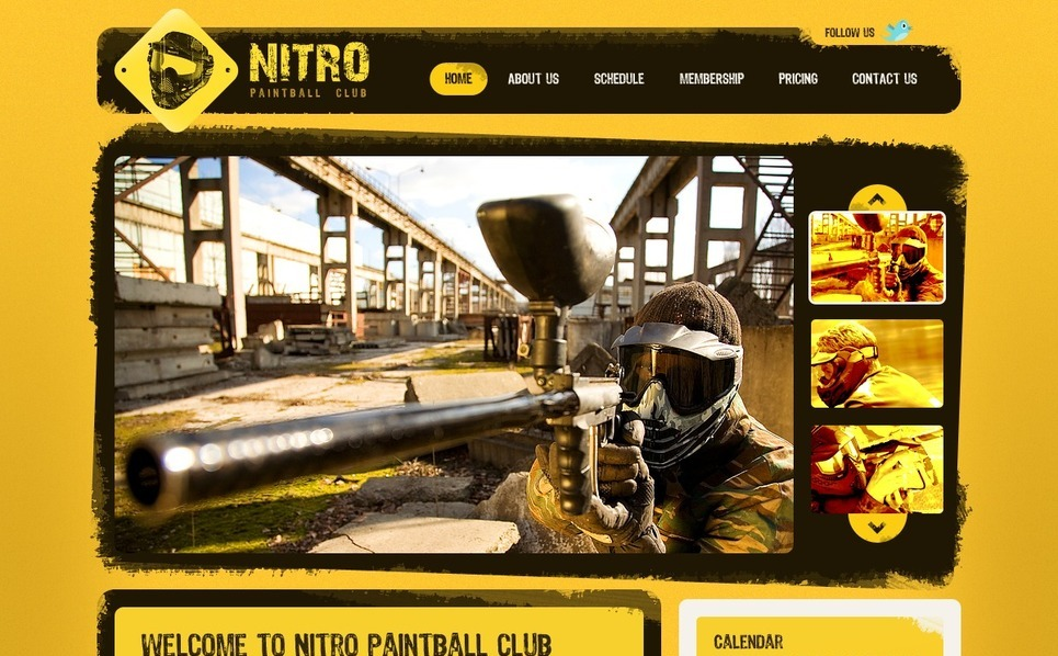 Paintball  Psd Şablon New Screenshots BIG