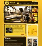 Sport PSD  Template 54142