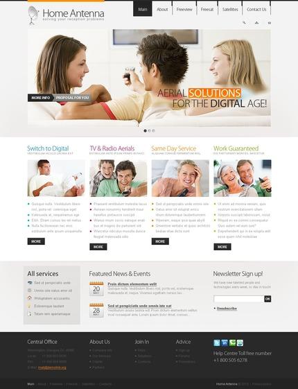 PSD макет сайта №54145