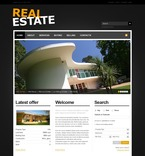 Real Estate PSD  Template 54146