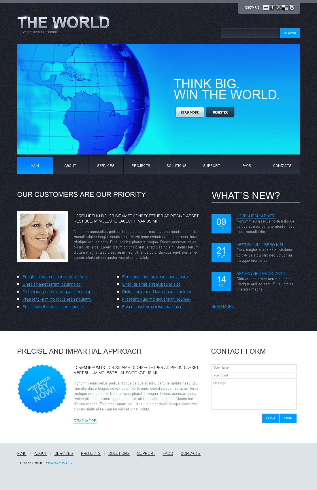 The The World PSD Design 54155, one of the best PSD templates of its kind (business, wide), also known as the world PSD template, business company PSD template, corporate solutions PSD template, innovations PSD template, contacts PSD template, service PSD template, support PSD template, information dealer PSD template, stocks PSD template, team PSD template, success PSD template, money PSD template, marketing PSD template, director PSD template, manager PSD template, analytics PSD template, planning PSD template, limited PSD template, office PSD template, sales and related with the world, business company, corporate solutions, innovations, contacts, service, support, information dealer, stocks, team, success, money, marketing, director, manager, analytics, planning, limited, office, sales, etc.