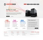 Web Hosting PSD  Template 54157