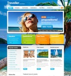 Travel PSD  Template 54159