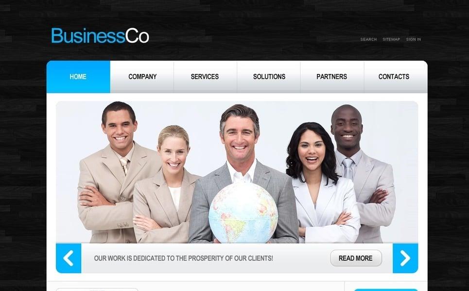 PSD шаблон №54167 на тему Бизнес и услуги New Screenshots BIG