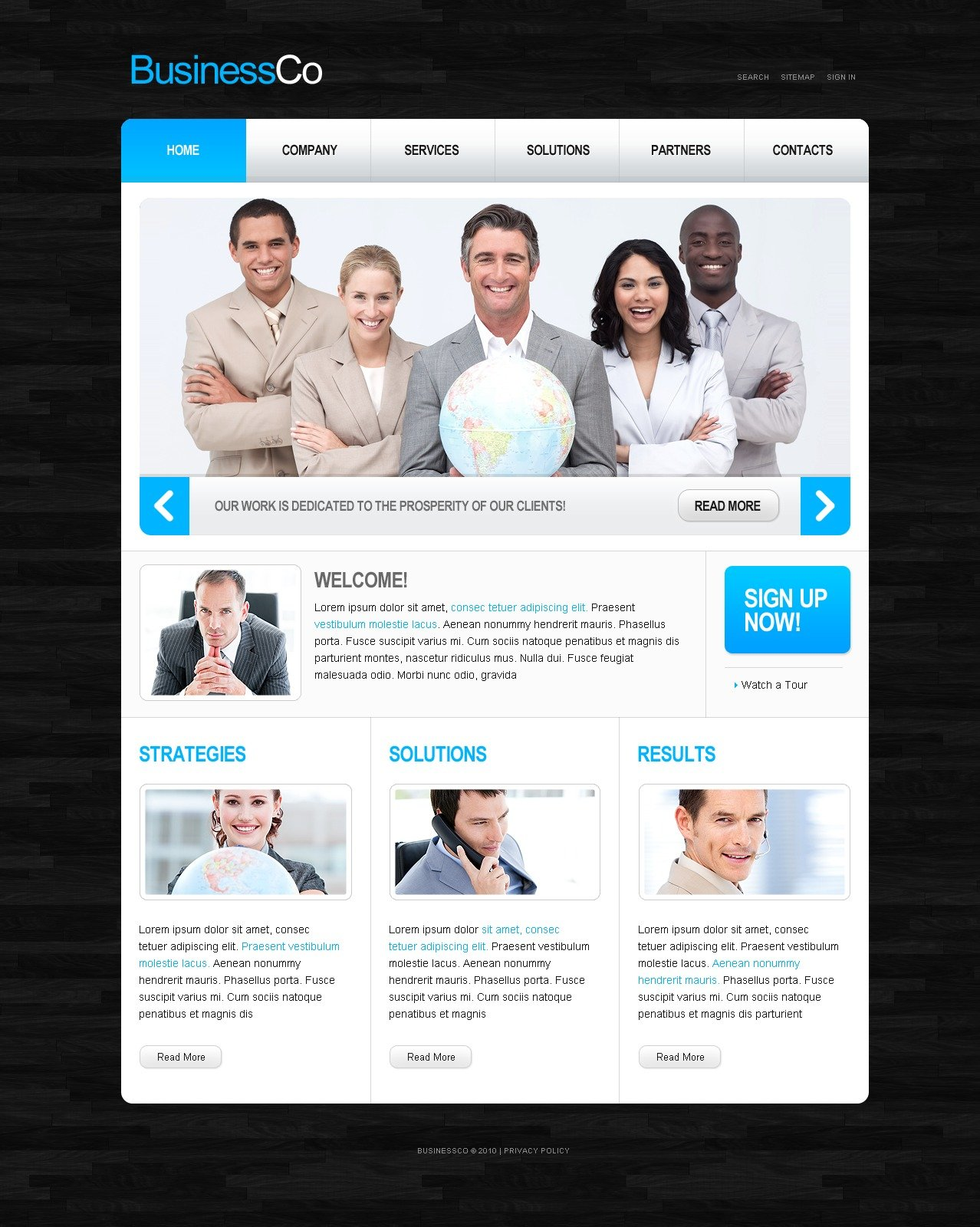 The Business Company PSD Design 54167, one of the best PSD templates of its kind (business, flash 8, wide), also known as business company PSD template, corporate solutions PSD template, innovations PSD template, contacts PSD template, service PSD template, support PSD template, information dealer PSD template, stocks PSD template, team PSD template, success PSD template, money PSD template, marketing PSD template, director PSD template, manager PSD template, analytics PSD template, planning PSD template, limited PSD template, office PSD template, sales and related with business company, corporate solutions, innovations, contacts, service, support, information dealer, stocks, team, success, money, marketing, director, manager, analytics, planning, limited, office, sales, etc.
