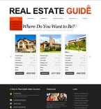 Real Estate PSD  Template 54171