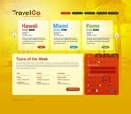 Travel PSD  Template 54172