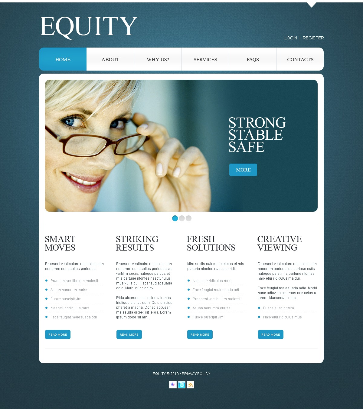 The Equity Business Company PSD Design 54175, one of the best PSD templates of its kind (business, wide, jquery), also known as equity business company PSD template, corporate solutions PSD template, innovations PSD template, contacts PSD template, service PSD template, support PSD template, information dealer PSD template, stocks PSD template, team PSD template, success PSD template, money PSD template, marketing PSD template, director PSD template, manager PSD template, analytics PSD template, planning PSD template, limited PSD template, office PSD template, sales and related with equity business company, corporate solutions, innovations, contacts, service, support, information dealer, stocks, team, success, money, marketing, director, manager, analytics, planning, limited, office, sales, etc.
