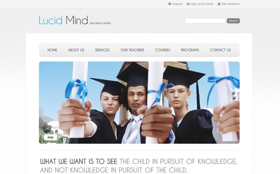 Eğitim  Psd Şablon New Screenshots BIG