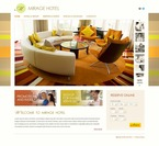 Hotels PSD  Template 54181