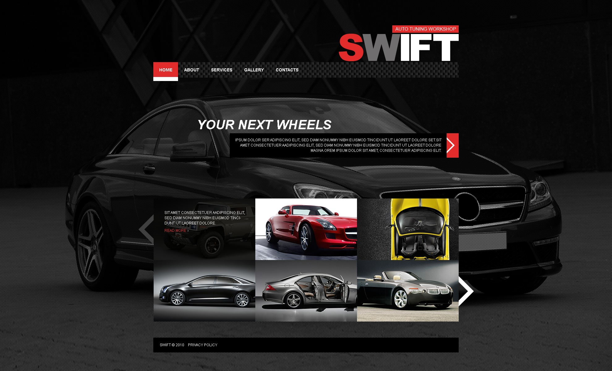 The Swift Cars Portal PSD Design 54182, one of the best PSD templates of its kind (cars, wide, jquery), also known as swift cars portal PSD template, auto PSD template, improvement PSD template, certified PSD template, exhibition solution PSD template, market PSD template, research PSD template, vendor PSD template, motor PSD template, price PSD template, Lexus transport PSD template, speed PSD template, jeep PSD template, ford PSD template, Audi Volvo Mercedes driving PSD template, off-road PSD template, racing PSD template, driver PSD template, track PSD template, race PSD template, urban PSD template, freeway PSD template, highway PSD template, road PSD template, vehicle PSD template, Porsche BMW spar PSD template, sell PSD template, o and related with swift cars portal, auto, improvement, certified, exhibition solution, market, research, vendor, motor, price, Lexus transport, speed, jeep, ford, Audi Volvo Mercedes driving, off-road, racing, driver, track, race, urban, freeway, highway, road, vehicle, Porsche BMW spar, sell, o, etc.