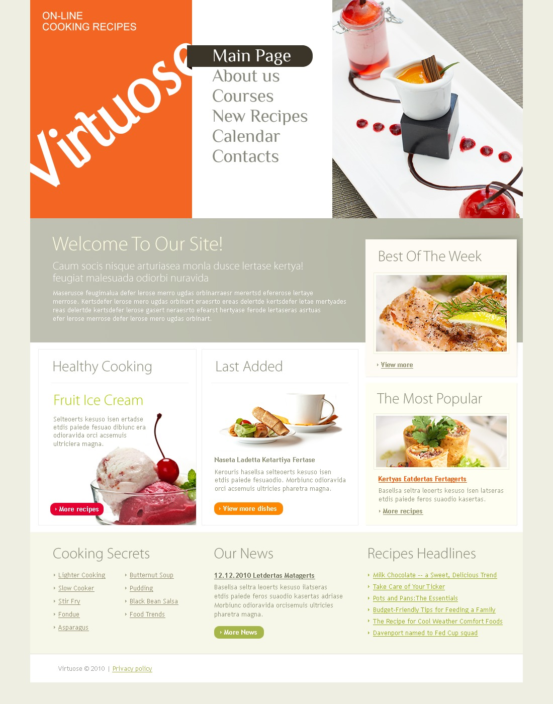 The Virtuose Cooking Recipes PSD Design 54194, one of the best PSD templates of its kind (food & drink, flash 8, wide), also known as virtuose cooking recipes PSD template, cooking recipes PSD template, webpage PSD template, site PSD template, information PSD template, events PSD template, archive PSD template, links PSD template, guestbook PSD template, journal PSD template, visitors PSD template, opinion PSD template, discussion blogroll restaurants PSD template, cuisine PSD template, flavour kitchen PSD template, cookbook PSD template, vegetarian PSD template, healthy PSD template, cocktail PSD template, drink PSD template, technique PSD template, delivery PSD template, ingredients PSD template, dis and related with virtuose cooking recipes, cooking recipes, webpage, site, information, events, archive, links, guestbook, journal, visitors, opinion, discussion blogroll restaurants, cuisine, flavour kitchen, cookbook, vegetarian, healthy, cocktail, drink, technique, delivery, ingredients, dis, etc.