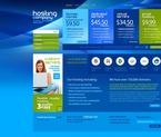 Web Hosting PSD  Template 54196