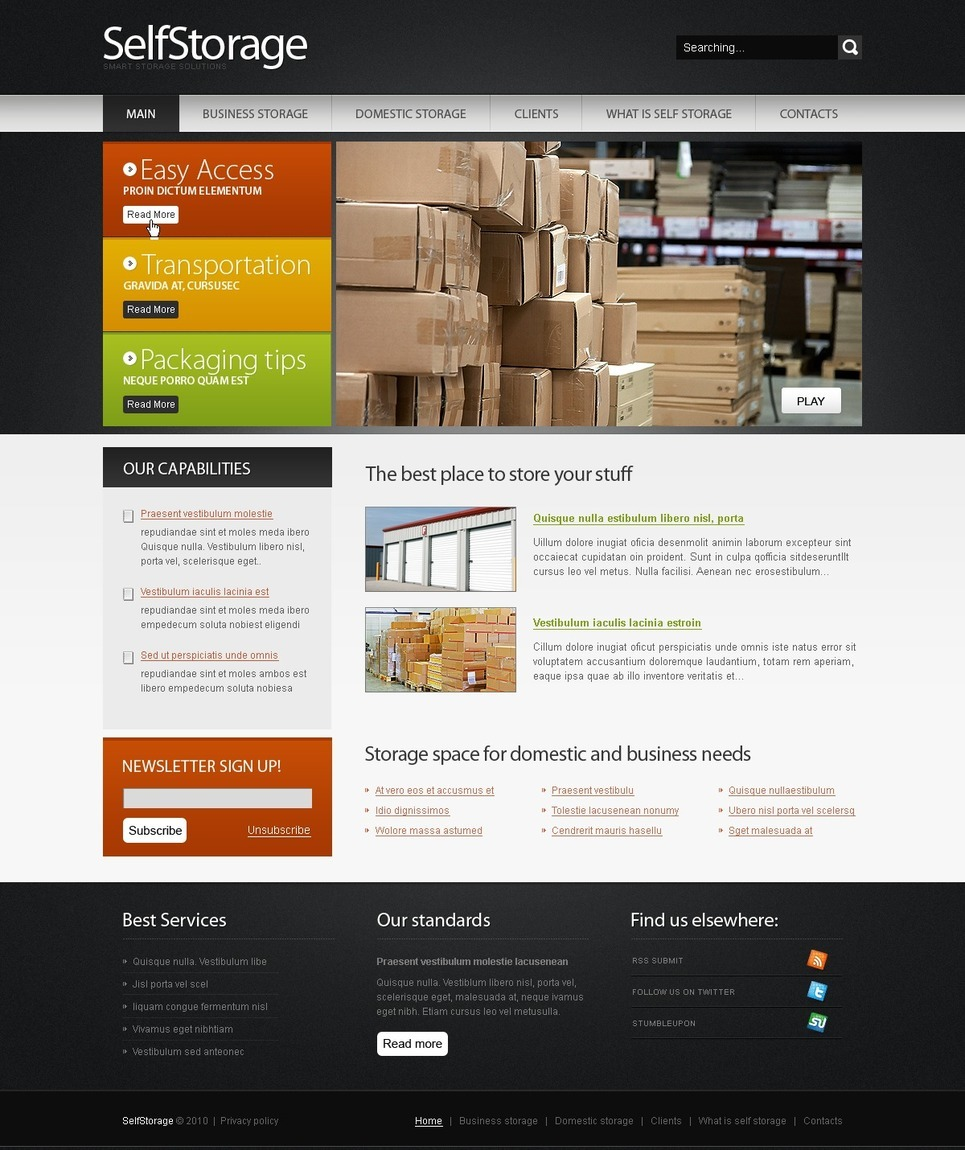 Packaging PSD Template New Screenshots BIG