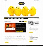 Web design PSD  Template 54200