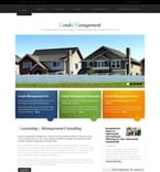 Real Estate PSD  Template 54204