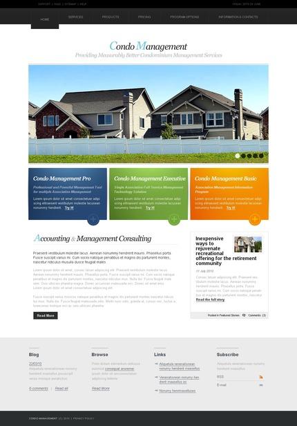 PSD макет сайта №54204