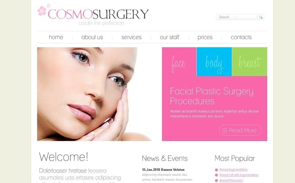 PSD Vorlage für Plastische Chirurgie  New Screenshots BIG