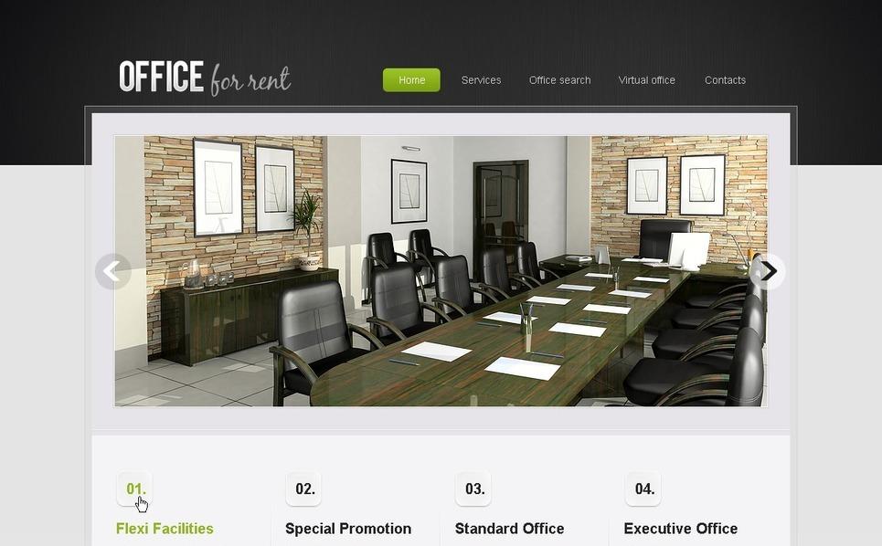 Modèle PSD  pour site de bureaux New Screenshots BIG