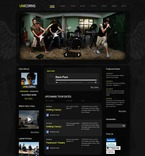 Music PSD  Template 54214