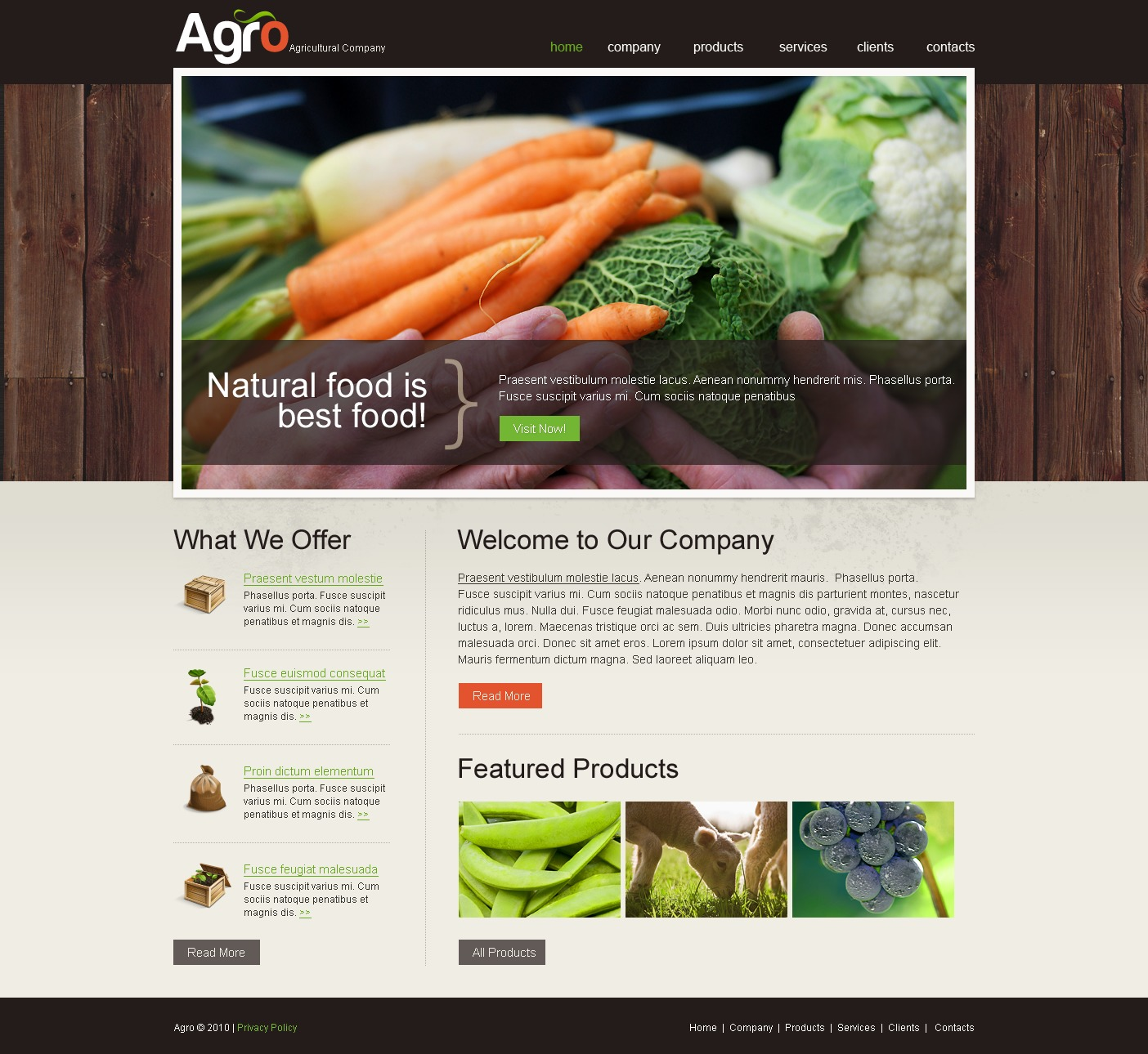 The Agro Agriculture Company PSD Design 54217, one of the best PSD templates of its kind (agriculture, flash 8, wide), also known as agro agriculture company PSD template, business PSD template, grain-crops PSD template, cereals PSD template, field PSD template, combine PSD template, harvest PSD template, farming PSD template, plants PSD template, services PSD template, products solutions PSD template, market PSD template, delivery PSD template, resource PSD template, grassland PSD template, equipment PSD template, nitrates PSD template, fertilizer PSD template, clients PSD template, partners PSD template, innovations PSD template, support PSD template, information dealer PSD template, stocks and related with agro agriculture company, business, grain-crops, cereals, field, combine, harvest, farming, plants, services, products solutions, market, delivery, resource, grassland, equipment, nitrates, fertilizer, clients, partners, innovations, support, information dealer, stocks, etc.