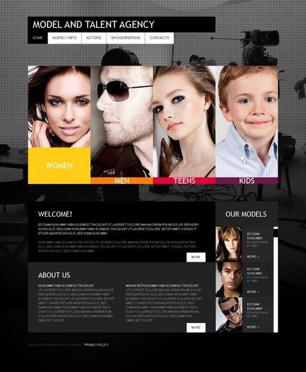 PSD макет сайта №54220