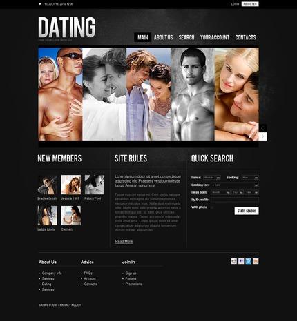 ADOBE Photoshop Template 54225 Home Page Screenshot