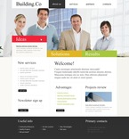 Architecture PSD  Template 54226