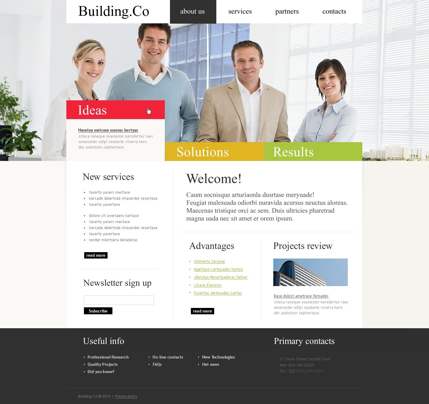 The Building Co Architecture Company PSD Design 54226, one of the best PSD templates of its kind (architecture, wide, jquery), also known as Building co architecture company PSD template, buildings PSD template, technology PSD template, innovation PSD template, skyscrapers PSD template, projects PSD template, constructions PSD template, houses PSD template, work PSD template, team PSD template, strategy PSD template, services PSD template, support PSD template, planning solutions design PSD template, non-standard PSD template, creative ideas PSD template, catalogue PSD template, windows PSD template, doors PSD template, equipme and related with Building co architecture company, buildings, technology, innovation, skyscrapers, projects, constructions, houses, work, team, strategy, services, support, planning solutions design, non-standard, creative ideas, catalogue, windows, doors, equipme, etc.