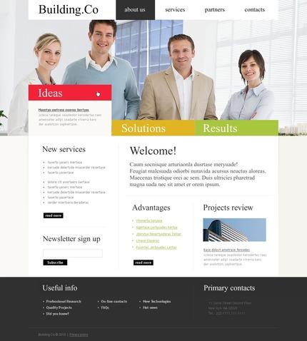 PSD макет сайта №54226