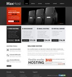 Web Hosting PSD  Template 54227