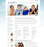 Education PSD  Template 54231