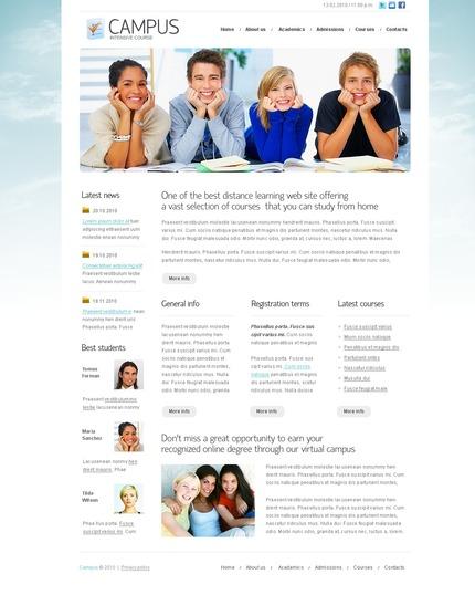 PSD макет сайта №54231
