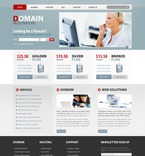 Web Hosting PSD  Template 54240