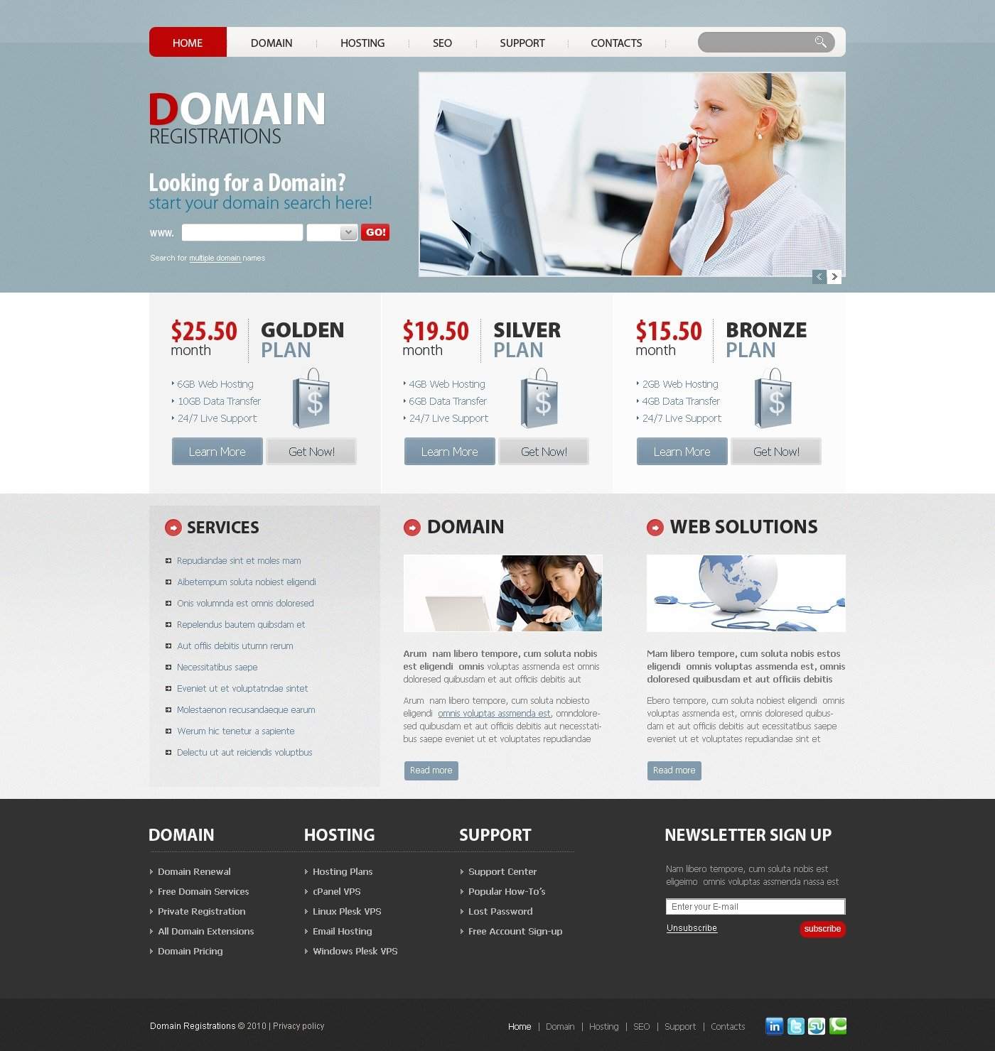 The Domain Name PSD Design 54240, one of the best PSD templates of its kind (internet, hosting, flash 8, wide), also known as domain name PSD template, registration PSD template, Internet website PSD template, hosting PSD template, e-mail PSD template, transfer PSD template, services PSD template, spam PSD template, filtering PSD template, transaction PSD template, report PSD template, site PSD template, builder solution PSD template, server PSD template, monitoring PSD template, management PSD template, account PSD template, activation PSD template, client PSD template, technology PSD template, data center provider PSD template, traffic PSD template, processor PSD template, space system and related with domain name, registration, Internet website, hosting, e-mail, transfer, services, spam, filtering, transaction, report, site, builder solution, server, monitoring, management, account, activation, client, technology, data center provider, traffic, processor, space system, etc.