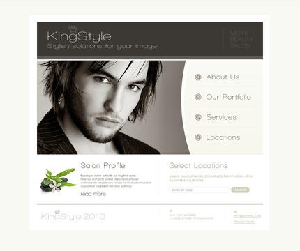 PSD макет сайта №54248