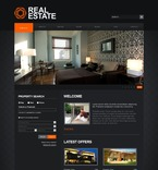 Real Estate PSD  Template 54265