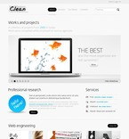 Web design PSD  Template 54269