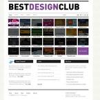 Web design PSD  Template 54271